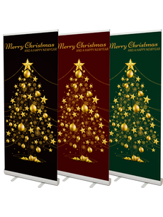 Kerst rollup banner
